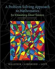 Problem Solving Approach to Mathematics Elementary School 10th Ed w/Activities