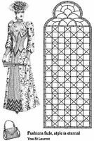 Unmounted Rubber Stamps - Lady Crawford Victorian - 5043 - REDUCED