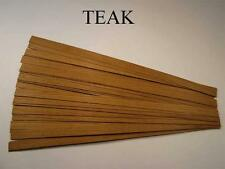 Casa De Muñecas las tablas del suelo. Teca, Hardwood floorboards.1 / 12, seis de Chapa tipos.