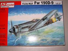 """1/72 Scale AZ Models Focke-Wulf Fw 190D-9 """"JG.2"""""""