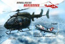 CANADAIR CL-604 CHALLENGER & UH A-72 LAKOTA Aircraft Air Ambulance Stamp Sheet