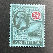 Stamp Vault - Antigua #55 or 62 - WMK ? - 2sh6p MH