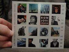 BON JOVI CRUSH_Aus ltd ed #00001_used CD_ships from AUSTRALIA!_C4