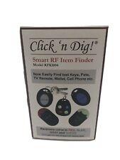 Click 'n Dig Model RFK Key Finder. 4 Receivers. Wireless RF Remote Item, Locator