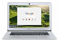 "Acer Chromebook 14 Laptop, Aluminum, 14"" Full HD, Intel Celeron Quad-Core, 4GB"