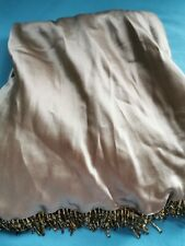 BenDeLisi Pure Silk BDL Gold Sequin Xmas Party Midi Maxi Skirt Debenhams New 16