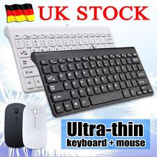 Wireless Kabellos Funk USB Keyboard Tastatur und Maus für PC Computer Bluetooth