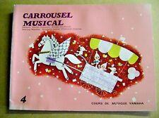 Carrousel musicale cours de musique yamaha piano orgue synté N4 /Z67