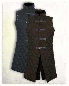 HALLOWEEN GIFT Thick padded Gambeson coat Aketon Medieval Jacket vest on Auction