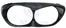 Mutazu Vivid Black Bad Boy Bezel Scowl For Harley Road Glide 1998 - 2013