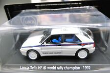 MODELLINO AUTO LANCIA DELTA HF SCALA 1/43 DIECAST CAR MODEL MINIATURE RALLY 1992