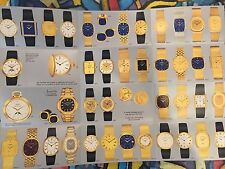 Patek Philippe Vintage Brochure with 3450  3700 models and others