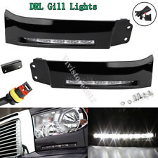 2PCS Car LED Bumper Built-in DRL Fog Lights Driving Lamp for 07-13 Toyota Tundra