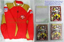 San Francisco 49ers Jacket SIGNED Bill Musgrave ☆ University of Oregon Ducks HOF