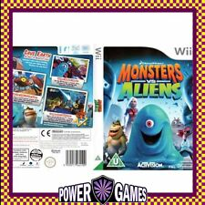Monsters vs. Aliens (Nintendo Wii) Brand New