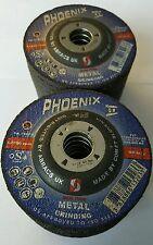 X25 PHOENIX METAL GRINDING DISCS 115MM X 6.5MM X 22.2MM ABRACS UK COMET SLOVENIA