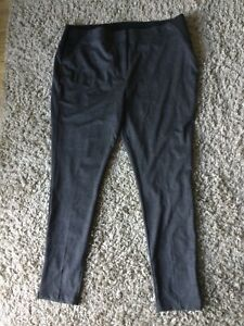Grey  Tailored Leggings Size 22 BNWT