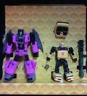 Transformers Buzzworthy BUMBLEBEE FIGURE Worlds Collide FANGRY Headmaster BRISKO