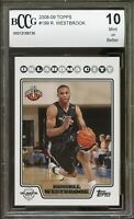 2008-09 Topps #199 Russell Westbrook Rookie Card BGS BCCG 10 Mint+