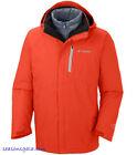 Men Columbia Powderkeg Omni Heat Winter Ski 3in1 Jacket Parka Coat Medium M