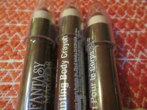 3x Fantasy Makers by Wet n Wild Enchanting Body Crayon 12858 Brown 3 Sealed
