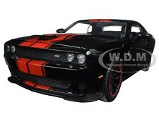 2015 DODGE CHALLENGER SRT HELLCAT BLACK/RED 1/24 DIECAST MODEL BY JADA 97855