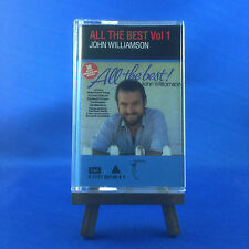 JOHN WILLIAMSON: All The Best Vol.1 (OUT OF PRINT ULTRA RARE 1992 CASSETTE)