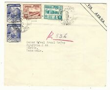 Peru: Cover circulated to Merida State - Venezuela with different and PE23