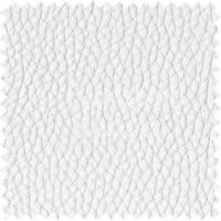 Recycled Eco Genuine Leather Hides Off-Cuts High Premium Upholstery Fabric White