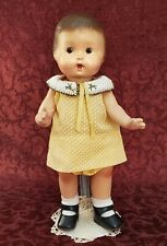 Vintage Madame Hendren All Composition 13 inch Strung Doll Painted Features
