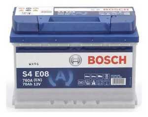 Batterie EFB BOSCH S4E08 70Ah/760A