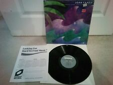 """John Fahey – Rain Forests, Oceans, And Other Themes Vinyl 12"""" LP + Insert 1985"""