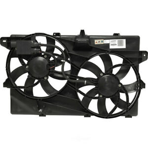 Dual Radiator and Condenser Fan Assembly-VIN: C|UAC FA 50282C (Fast Shipping)