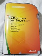 Microsoft Office Home and Student 2007 (Retail) - Full Version for Windows