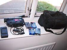 Cámara De Vídeo Grabadora Panasonic RX1 NV-RX1B Handycam, Bolsa