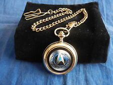 STAR TREK INSIGNIA WATCH WITH CHAIN (NEW) (4)