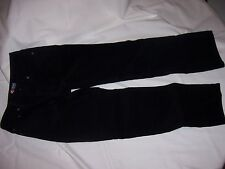 Boy's Chaps Black Corduroy Dress Pants Size 10 Cords Zipper and Button