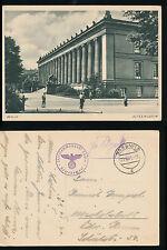 SASSNITZ  Inselkommandant Rügen Militär  Feldpost Briefstempel  1941 WW2  Berlin