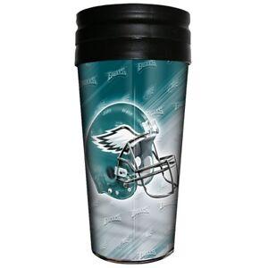 Philadelphia Eagles Majestic NFL 16oz Logo Wrap Travel Mug FREE SHIP!!
