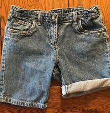 Hanna Andersson Denim Shorts Girls Size 140 10-12
