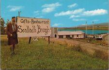 Sealladh Breagh Gift Shop Margaret Harbour NS Nova Scotia John May Postcard D40