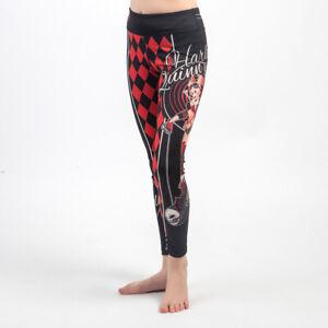 Fusion FG Harley Quinn DC Bombshells Kids Spats Leggings