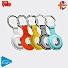 AirTag Case Silicone pet key Ring For Apple Loop Holder Keyring Carry Keychain
