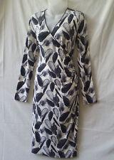 Lisa Barron Size 12 Dress NEW Long Slv Corporate Work Evening Occasion Travel