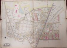 1915 UPDATED TO 1919 MASPETH - LUTHERAN & MT. OLIVET CEMETERY P.S. 71 ATLAS MAP