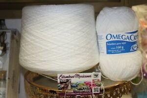 Omega Crystal 1000gr, OmegaCrys, Crystal Thread, Hilo Crystal Various Colors