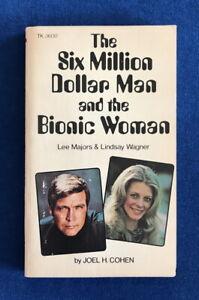 TV tie-in pb SIX MILLION DOLLAR MAN & THE BIONIC WOMAN (Scholastic 1976) Cohen