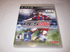 Pro Evolution Soccer 2011 (Playstation PS3) Complete LN Perfect Mint!
