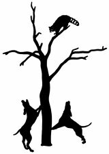 Coon Decal #10 Hunting Sticker Vinyl Graphic for Car/Trucks, Windows & more