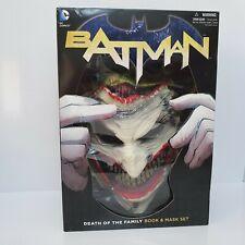 Batman: Death of the Family. Book and Joker Mask Set, capullo, Greg (z1)
